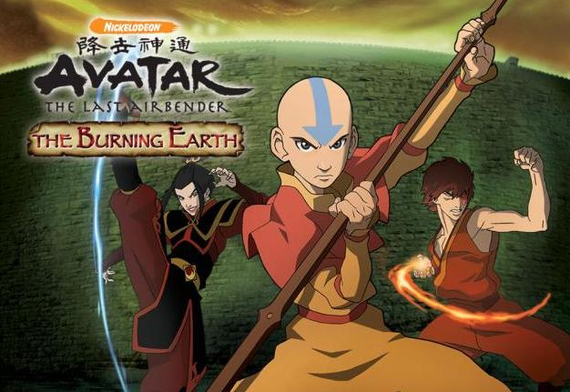 Avatar: the Burning Earth (Wii)