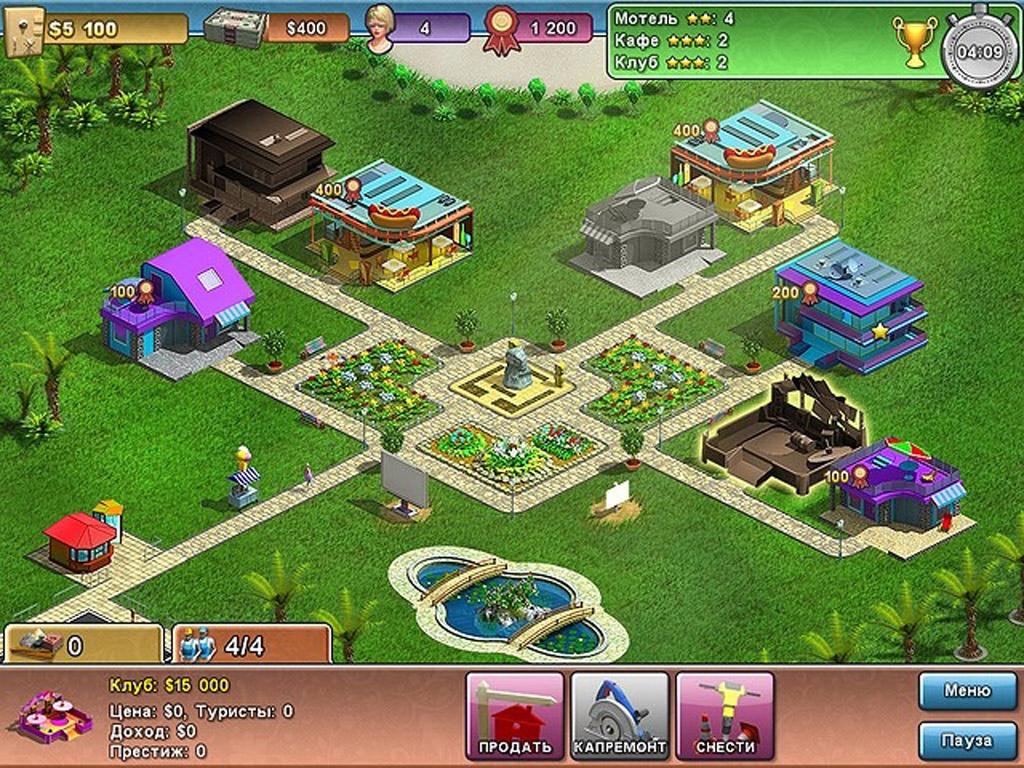 Скриншоты к игре Магнат Сочи.