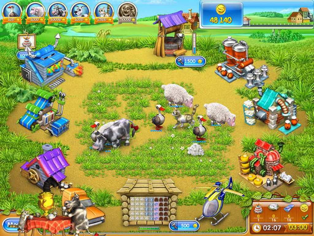 Игры скачать бесплатно веселая ферма с ключом