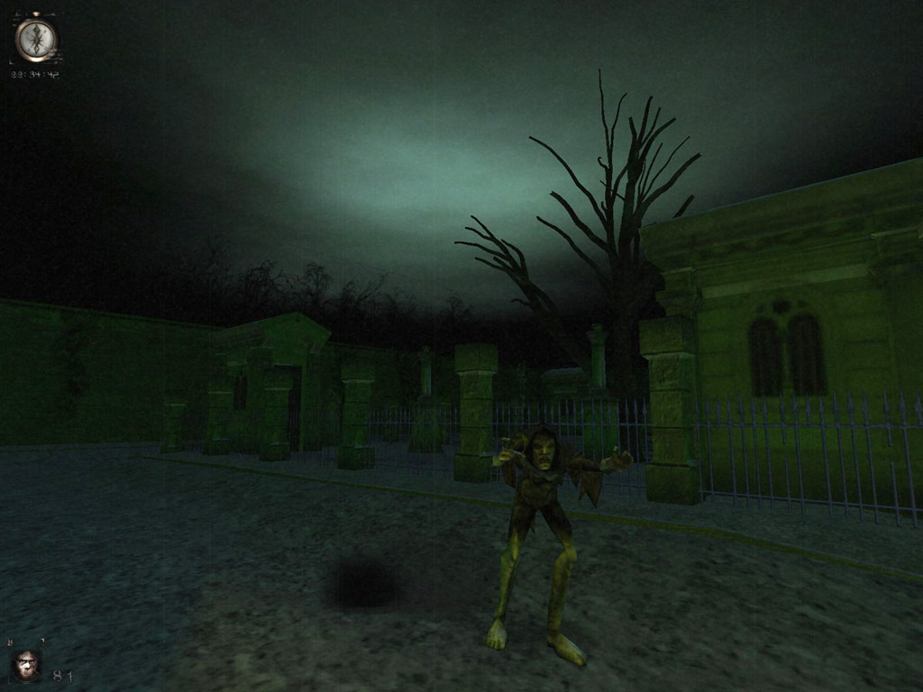 Скриншоты к игре вампиры