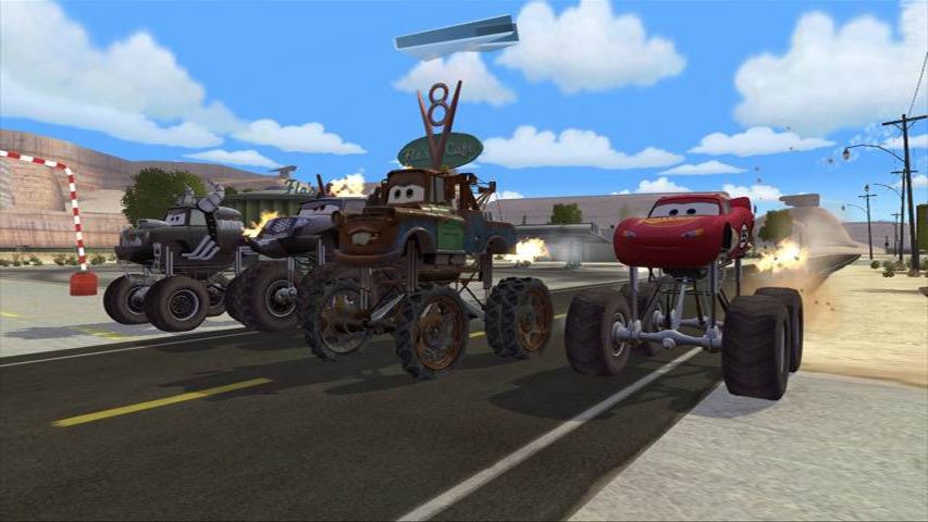 Cars Mater National (Wii)
