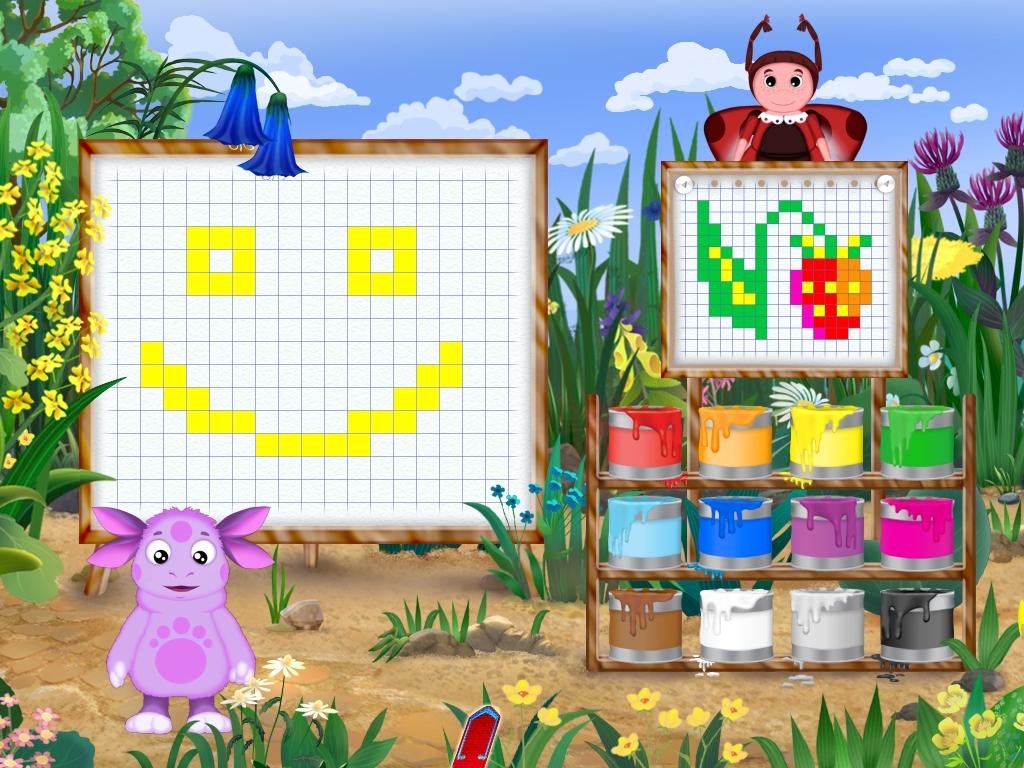 Рисованные игры для девочек