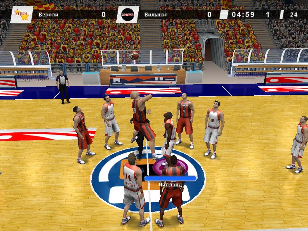 компьютерные игры баскетбол